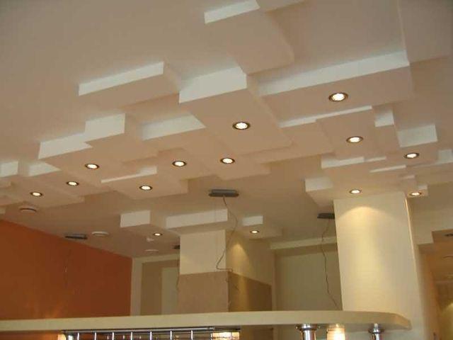 Как сделать многоуровневые потолки из