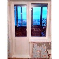 Окно пвх для балкона белое - окна пвх, заказать или купить в.