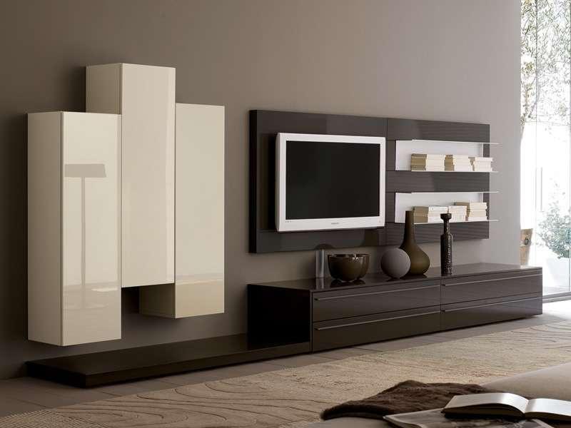 стенка под телевизор минимализм фото